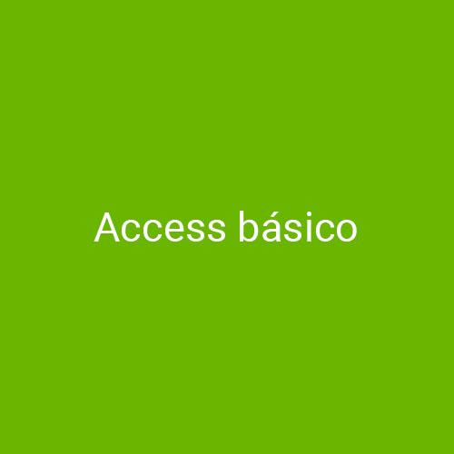 Curso de Access Básico para empresas en Madrid y Barcelona. CEDECO