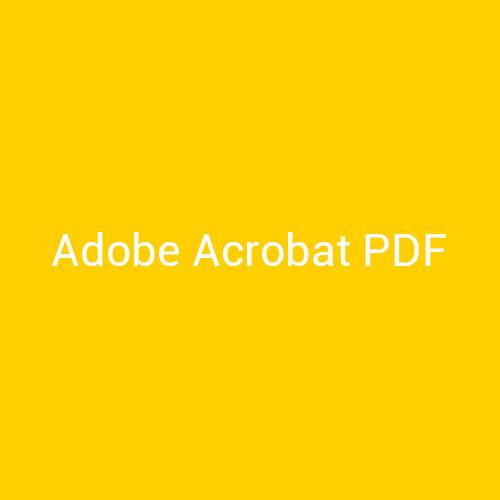 Cursos de Adobe Acrobat PDF para empresas en Madrid y Barcelona. CEDECO