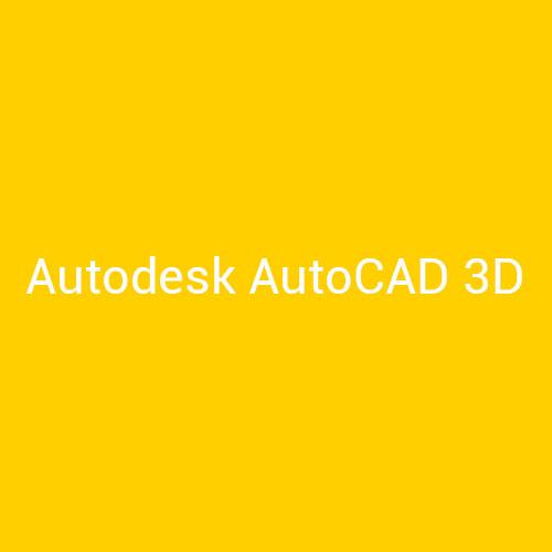 curso AutoCAD 3D