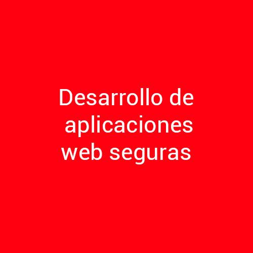 Cursos de Desarrollo de Aplicaciones Web Seguras para empresas en Madrid y Barcelona.