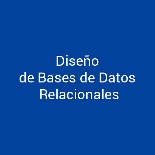 Cursos de Diseño de Bases de datos Relacionales para empresas en Madrid y Barcelona. CEDECO