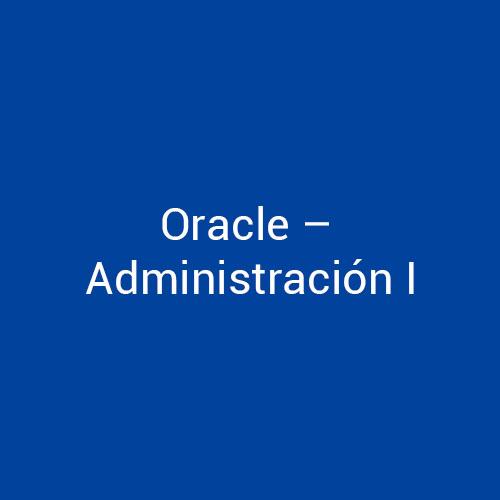 Cursos de Oracle Administración I para empresas en Madrid y Barcelona. CEDECO