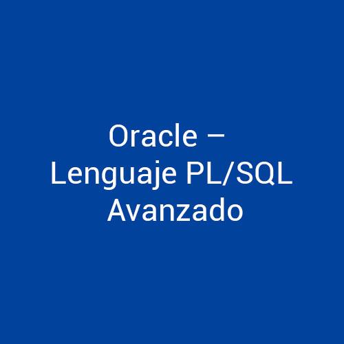 Cursos de Oracle Lenguaje PL/SQL Avanzado para empresas en Madrid y Barcelona. CEDECO