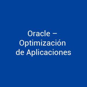 Cursos de Oracle Optimización de Aplicaciones para empresas en Madrid y Barcelona. CEDECO