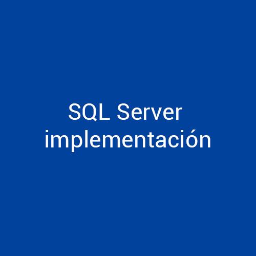 Cursos de SQL Server implementación para empresas en Madrid y Barcelona. CEDECO