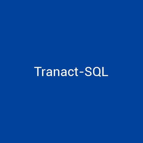 Cursos de Tranact-SQL para empresas en Madrid y Barcelona. CEDECO