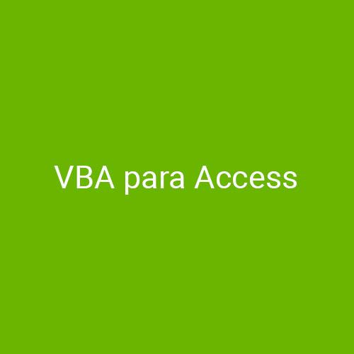 Curso de VBA para Access para empresas en Madrid y Barcelona. CEDECO
