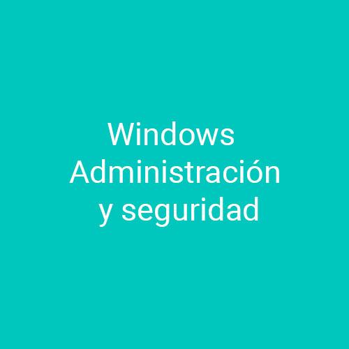 Curso Windows Administración y Seguridad para empresas en Madrid y Barcelona. CEDECO
