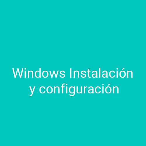 Cursos de Windows Instalación y Configuración para empresas en Madrid y Barcelona. CEDECO