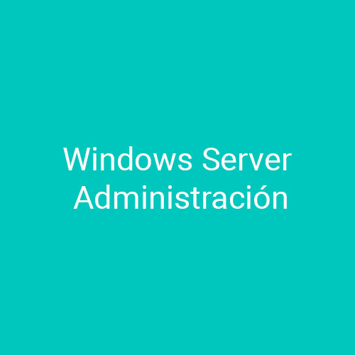 Cursos de Windows Server Administración para empresas en Madrid y Barcelona.